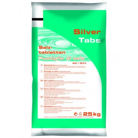 Silver Tabs regenerační tabletová sůl 1000Kg